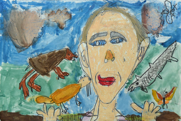 Animals from the Land and the Sea Robert Salmon Age 5, Kindergarten