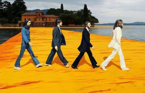 Anonimo, I Beatles su The Floating Piers