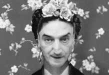 Gianni Romano come Frida Kahlo