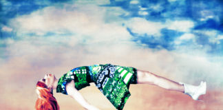 "Image of Mary Katrantzou's ""Expandit"" dress, 2012, Erik Madigan Heck"