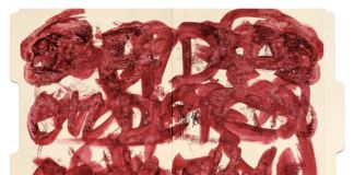 William S. Burroughs, Untitled (May 27),1992