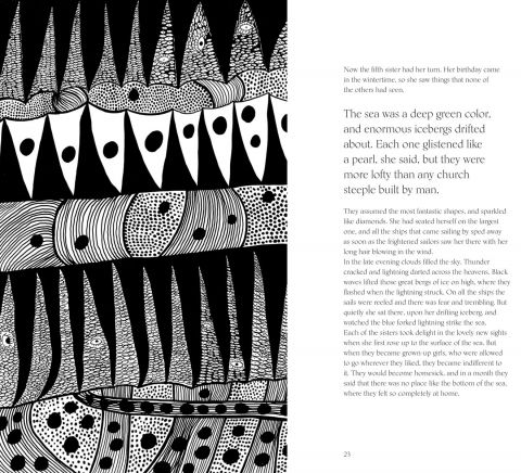 The Little Mermaid by Hans Christian Andersen & Yayoi Kusama.A Fairy Tale of Infinity and Love Forever