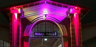Marx Halle, location della Vienna Contemporary