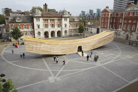 The Smile by Alison Brooks Architects ph credit London Design Festival 2016 supported by British Land