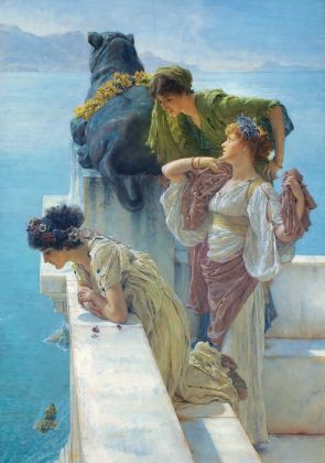 Sir Lawrence Alma-Tadema, Coign of Vantage, 1895, Collection of Ann and Gordon Getty