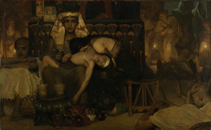 Sir Lawrence Alma-Tadema, The Death of the First-born, 1872, Rijksmuseum, Amsterdam – gift of the heirs of Sir Lawrence Alma-Tadema, 1912. Photo © Rijksmuseum, Amsterdam