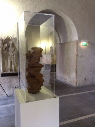 Tony Cragg, different Point of view, court. Roberto Cortellazzo
