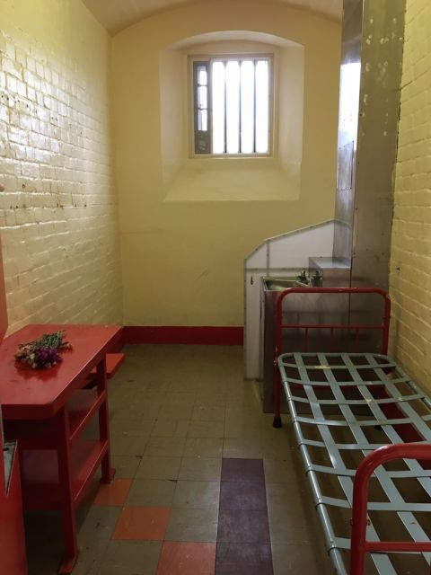 Inside. Artists and writers in Reading Prison - la cella di Oscar Wilde