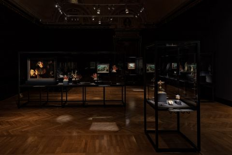 Edmund de Waal meets Albrecht Dürer - exhibition view at Kunsthistorisches Museum, Vienna 2016 - photo KHM Museumsverband