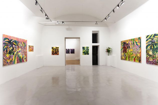 Nicholas William Johnson – Dewdrinker or... - exhibition view at Montoro12 Contemporary Art, Roma 2016
