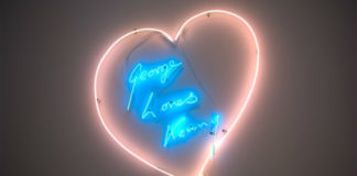 George Loves Kenny, di Tracey Emin