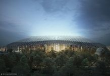 Il progetto per il nuovo Stamford Bridge, Londra (c) Herzog & de Meuron
