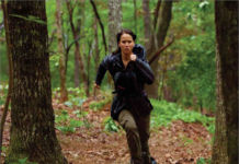 Katniss Everdeen in Hunger Games