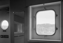 Massimiliano Camellini, Windows, Hanjin Yantian, 02-05-2014, Genova, Terminal Sech, Courtesy of Bag Gallery, Parma