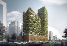 Stefano Boeri Architetti, Nanjing Vertical Forest, Cina Courtesy SBA