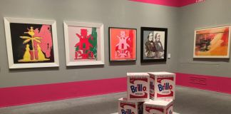 Andy Warhol - Pop Society, exhibition view at Palazzo Ducale, Genova