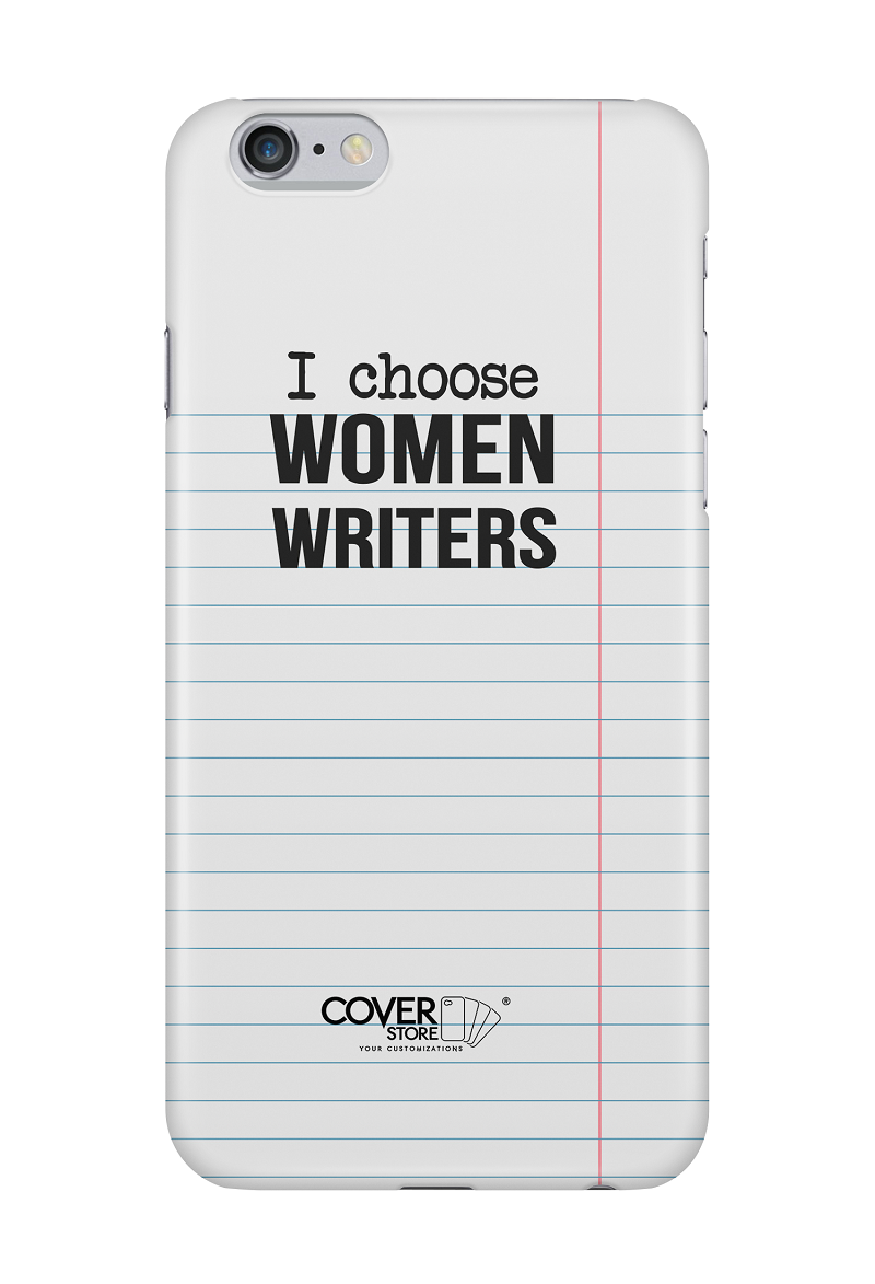 I Choose Women Writers - cover iPhone
