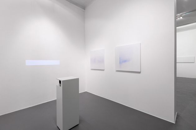 Minus.log, Untitled (line). Exhibition view at Galleria Bianconi, Milano 2017