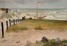 William Merritt Chase, The Coast of Holland, 1884, © Frye Art Museum