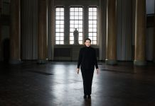 Marina Abramović at the Eric Ericson Hall, 2017 Photo: Moderna Museet / Åsa Lundén