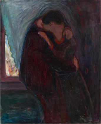Edvard Munch, The kiss, 1897. Munch Museum, Oslo
