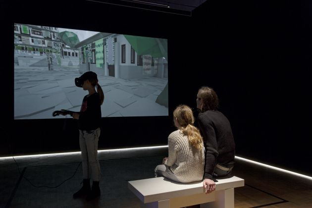 Human - Digital. Exhibition view at Kunsthal Rotterdam, 2017. Photo Job Janssen