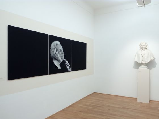 Katja Snozzi, Ritratti fotografici. Exhibition view at Museo Vincenzo Vela, Ligornetto 2017