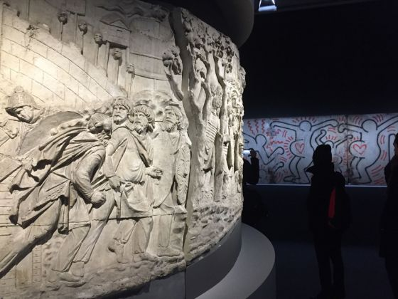 Keith Haring. About Art. Exhibition view at Palazzo Reale, Milano 2017