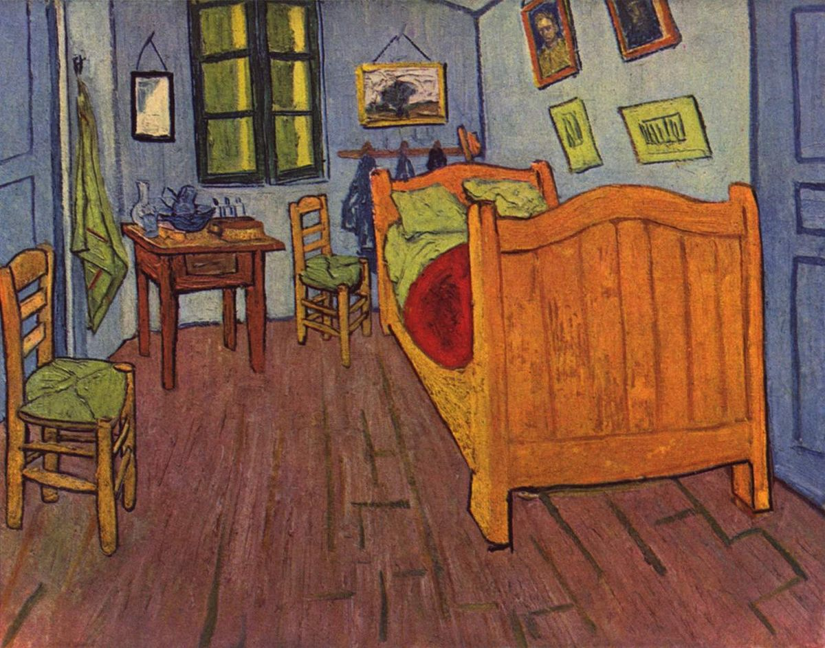 Camminare dentro la camera di van gogh a milano artribune - Camera da letto di van gogh ...