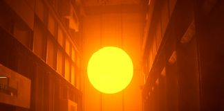 Olafur Eliasson, The Weather Project, 2003. Tate Modern, Turbine Hall, Londra