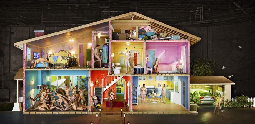 Self Portrait as House, 2013 ©David LaChapelle