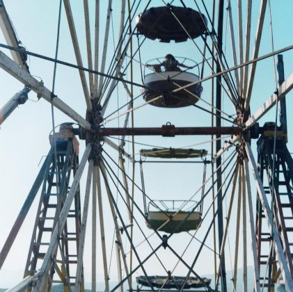 Yto Barrada, Ferris Wheel, 2001 © Courtesy of Gallery Sfeir-Semler, Hamburg-Beirut