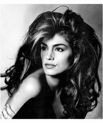 Cindy Crawford by Irving Penn, Vogue, September 1991