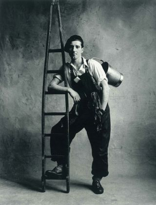 Irving Penn, Window Washer, London, 1950