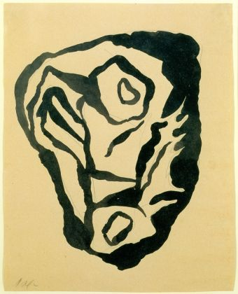 Jean Arp, Pre-dada drawing, 1916, collection Arp Stiftung Berlijn