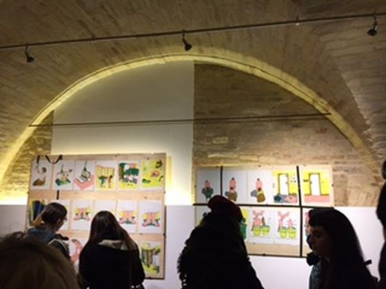 La mostra dell'illustratrice Aurelie William Levaux