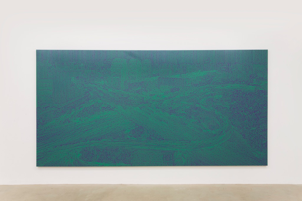 Lu Xinjian. Exhibition view at De Sarthe Gallery, Beijing 2017