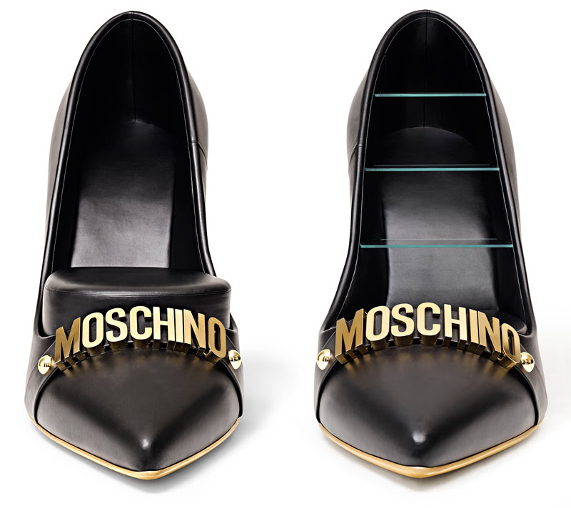Moschino per Gufram, High Heels, photo Leonardo Scotti