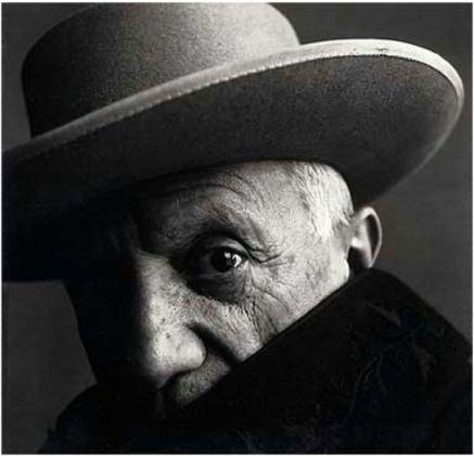 Pablo Picasso in La Californie, Cannes 1957 - Irving Penn