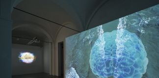 Sarah Ciracì, Like An Ocean With Its Waves..., 2017, videoinstallazione. Foto Roberto Marossi