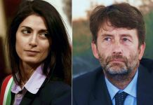Virginia Raggi e Dario Franceschini