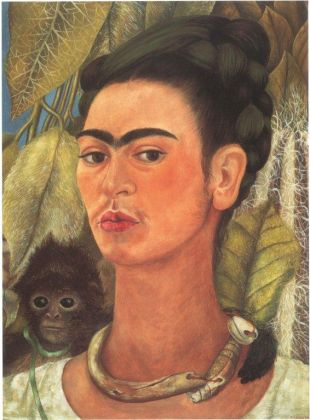 rida Kahlo, Self-Portrait with Monkey,1938, Prestatore Collection Albright-Knox Art Gallery, Photo Tom Loonan © Banco de México Diego Rivera Frida Kahlo Museums Trust, Mexico, D.F. by SIAE 2017