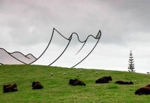 Gibbs Farm, Sculpture Park, New Zeland. Neil Dawson © Gibbs Farm 2013