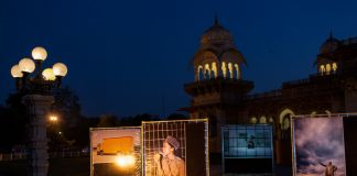 Jaipur Photo Festival 2017. Installation view at Albert Hall Museum. Photo Paulo Simao