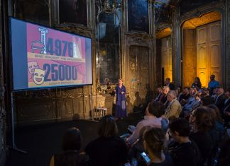 Nancy Proctor a Meet the Media Guru, Palazzo Litta, Milano 2017