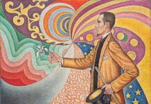 Paul Signac, Portrait of M. Felix Feneon