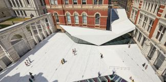 The Sackler Courtyard, V&A Exhibition Road Quarter, designed by AL_A ©Hufton+Crow