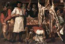 Annibale Carracci, Bottega del macellaio, 1583-85