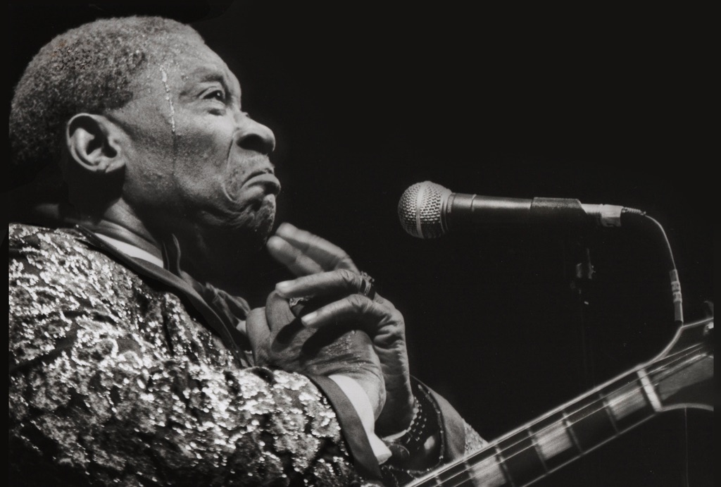 BB King. Photo Angelo Redaelli