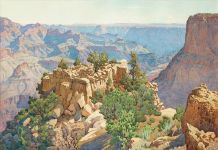 Gunnar Widforss, Grand Canyon